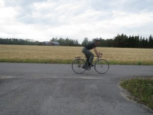 Pyöräillen kuntoa